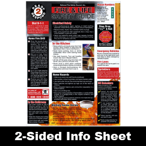 614F: Ready 2 Respond Fire & Life Safety Guide Info Sheet